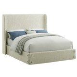 Abdallah Upholstered Platform Bed by Winston Porter