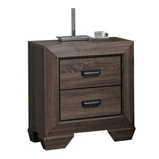 Alec 2 Drawer Nightstand by Alcott Hill Best Design