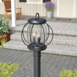 Haddox Outdoor 3-Light Lantern Head by Brayden Studio