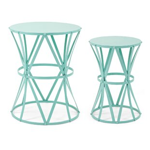 Reviews Elysian 2 Piece End Table Set By Ivy Bronx