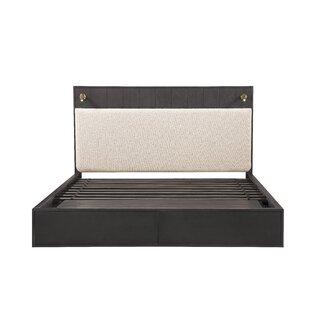 Storage Low Profile Storage Platform Bed by Bobby Berk Home