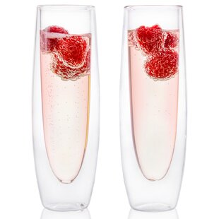 10 oz. Glass Flute (Set of 2)
