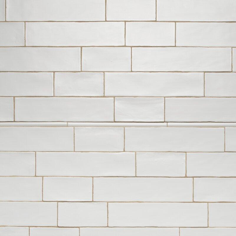 Tivoli 3 X 6 Ceramic Subway Tile In Matte White
