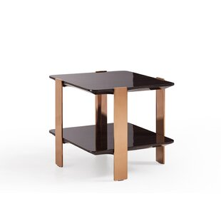 Trimble Modern End Table by Everly Quinn