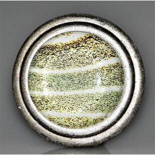 Handpainted Sand Ripples Mushroom Knob (Set of 4)