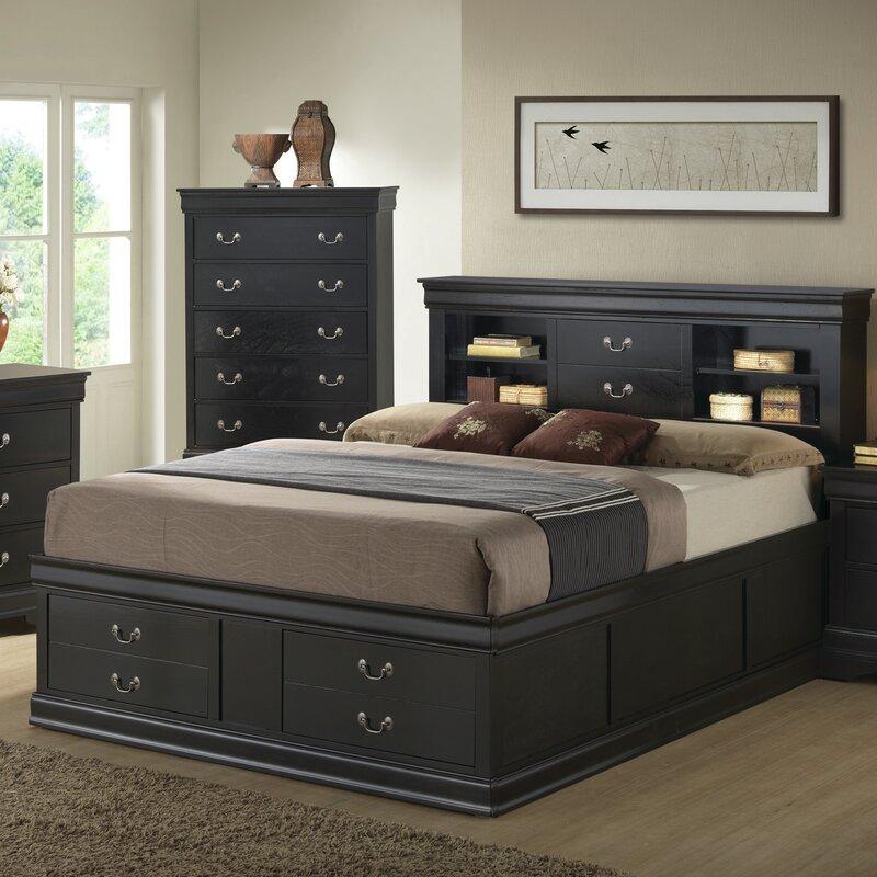tina wood platform bed