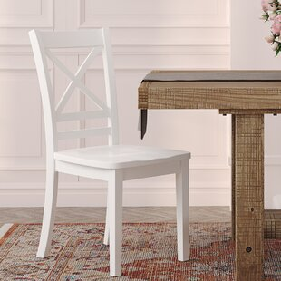 Coddington Solid Wood Dining Chair (Set of 2) Alcott Hill