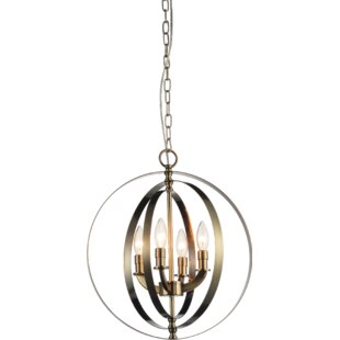 Deals Estrella 4-Light Candle-Style Chandelier By Breakwater Bay