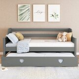 Kasandra Twin Daybed with Trundle by Harriet Bee