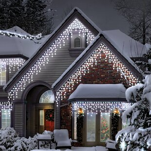 1200 White LED With Multiple Functions And Timer Icicle Lights By The Seasonal Aisle