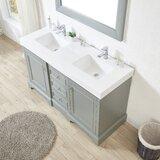 Betancourt 60 Double Bathroom Vanity Set by Longshore Tides