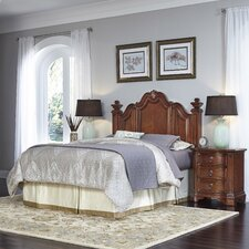 Santiago Panel 3 Piece Bedroom Set by Home Styles
