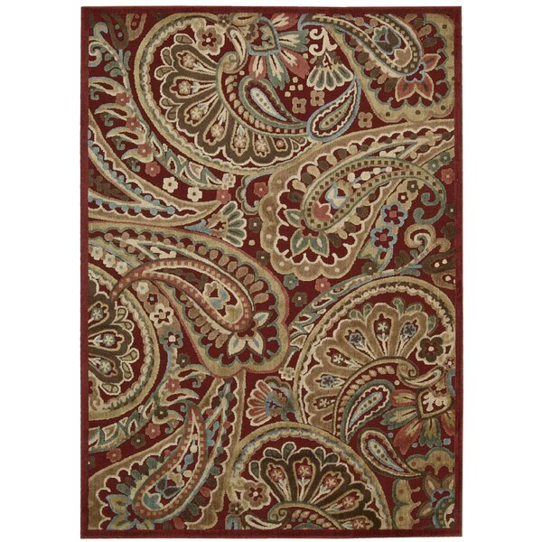 Nourison Illusions Red Area Rug U0026 Reviews | Wayfair