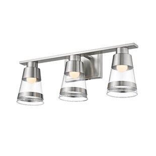 Breakwater Bay Jacey 3-Light LED Vanity Light