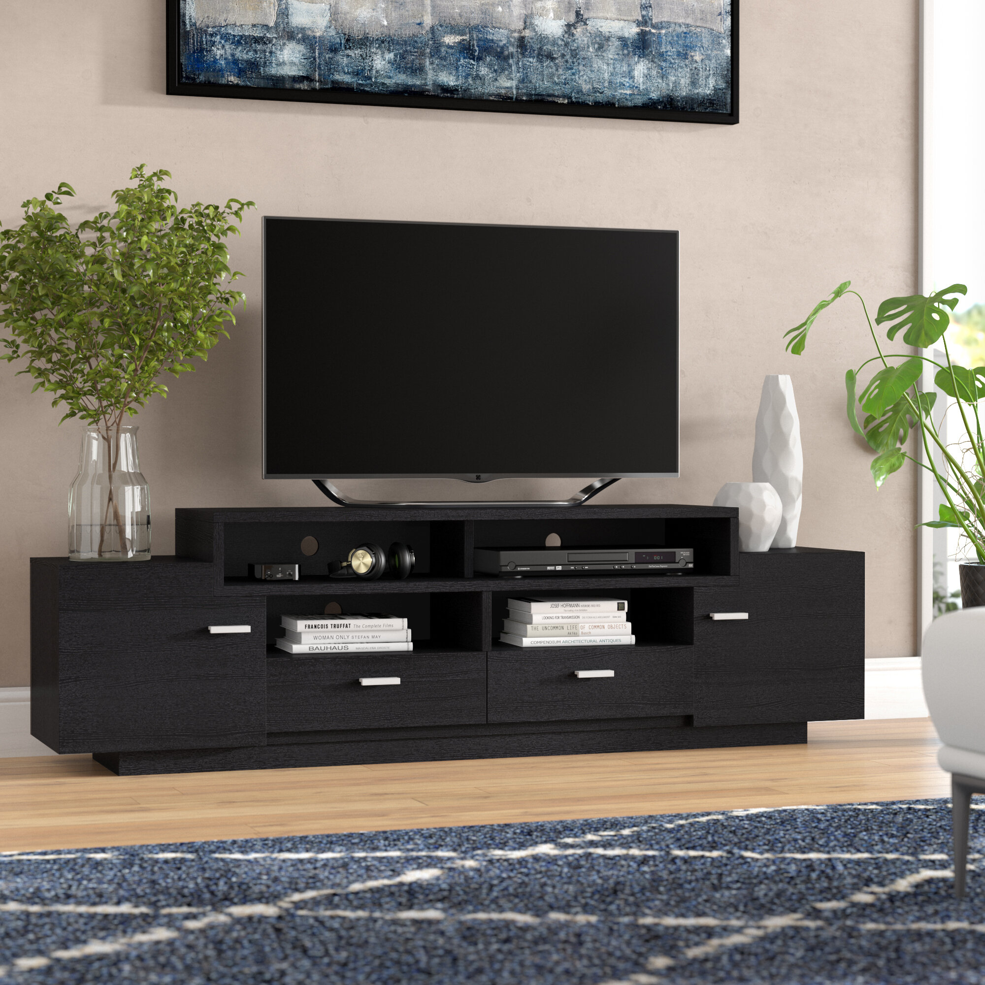 Wade Logan Aston Tv Stand For Tvs Up To 70 Reviews Wayfair
