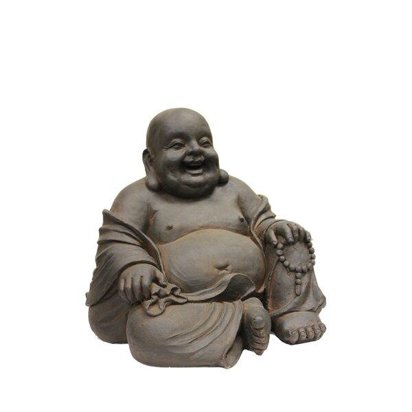 Hi Line Gift Ltd Happy Sitting Buddha Statue Amp Reviews