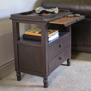 Tiberius End Table with St..