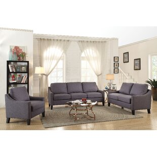 Bracken 3 Piece Living Room Set By Alcott Hill