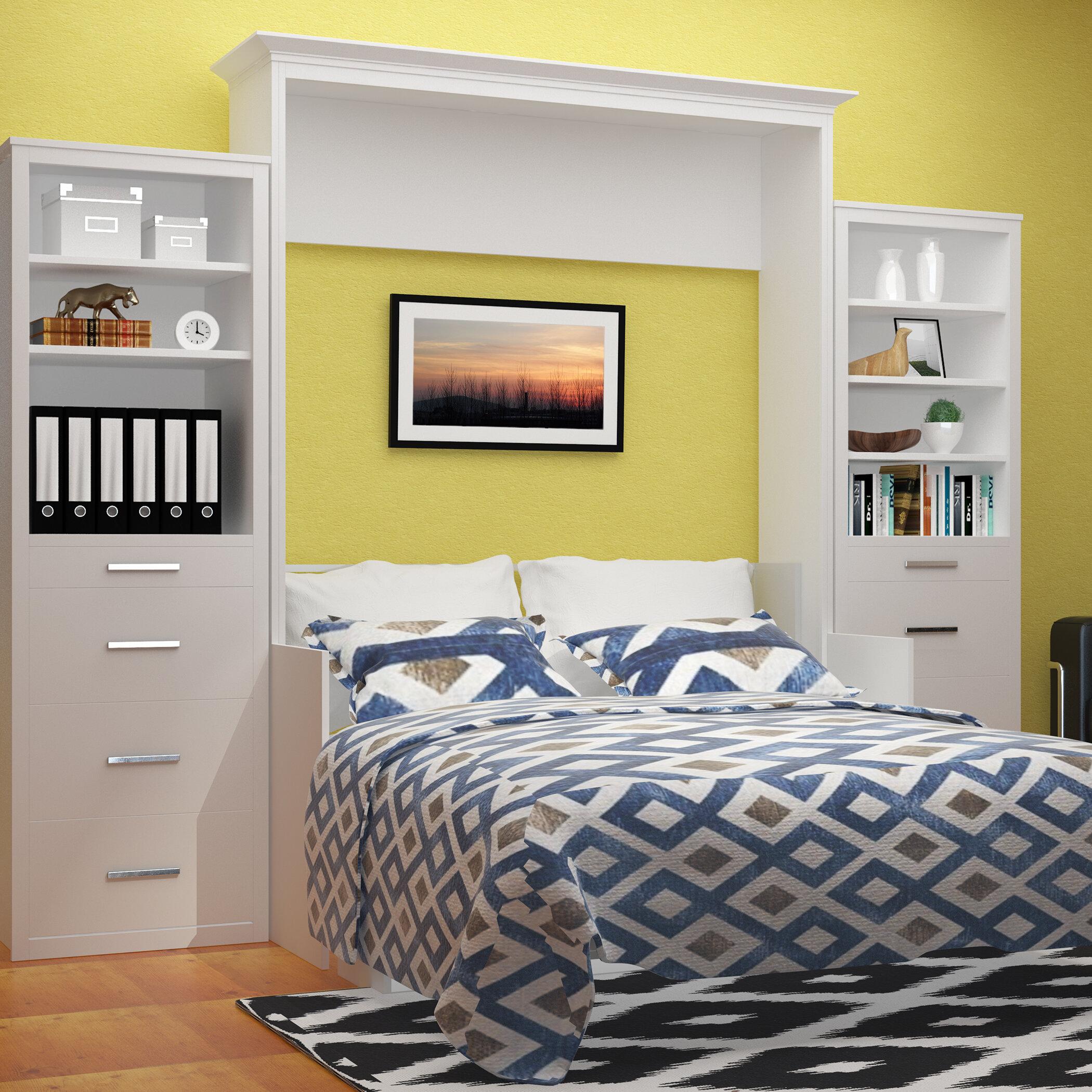 Tova Portrait Wall Queen Murphy Bed