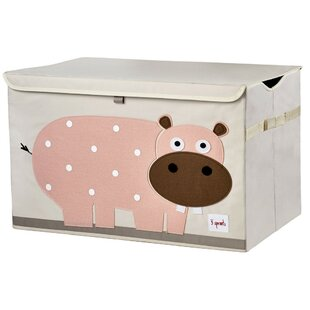 Hippo Toy Box by 3 Sprouts