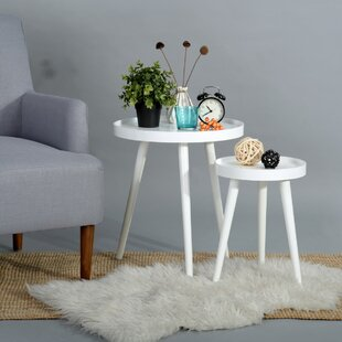 Affordable Price Hawker 2 Piece Nesting Tables by George Oliver