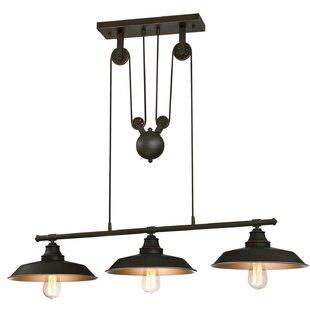 Trent Austin Design Alayna 3-Light Kitchen Island Pendant