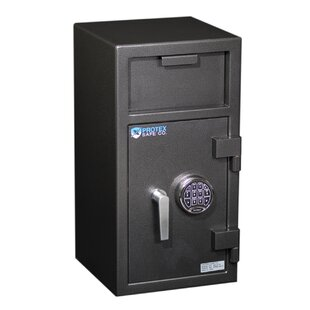 Protex Safe Co. Front Loading Electronic Lock Commercial Depository Safe