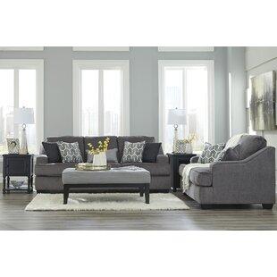 Nicholls Upholstery Living Room Set by Latitude Run