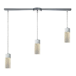 Minard Linear Bar 3-Light Pendant by Brayden Studio