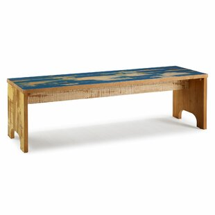 Highland Dunes Chesler Reclaimed Wood Bench