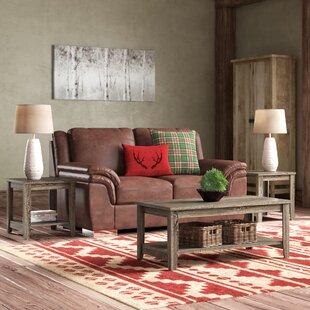 Laurel Foundry Modern Farmhouse Balderston 3 Piece Coffee Table Set