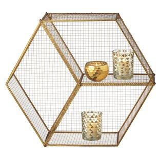 Mercury Row Cleek Hexagon Wall Cubby