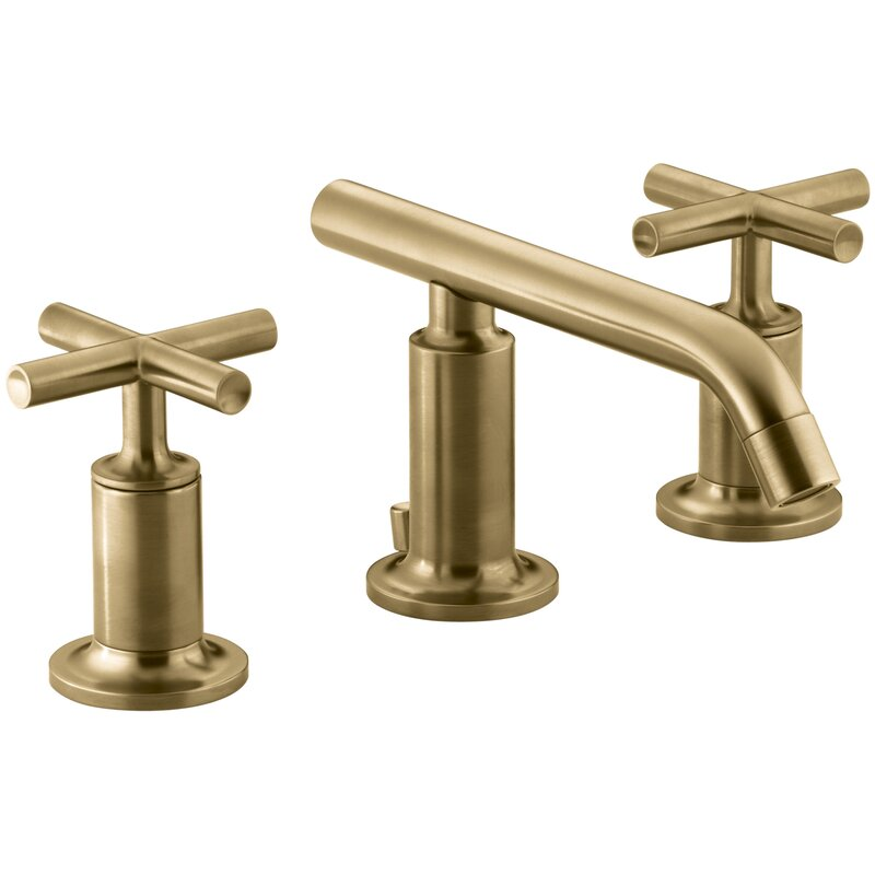 K 14410 3 Cpbgd Kohler Purist Widespread Bathroom Sink Faucet With