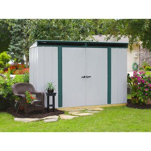 Euro-Lite 10 Ft. X 4 Ft. Metal Storage Shed By Arrow