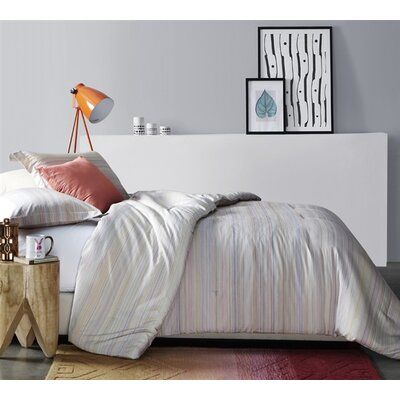 Ebern Designs Norberg 100% Cotton Reversible Bedding Set Size: King, Product Type: Duvet Set