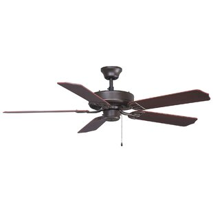 Affordable 52 Builder Series 5-Blade Standard Ceiling Fan By Fanimation