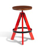Colter Swivel Solid Wood Adjustable Height Bar Stool (Set of 50) by sohoConcept