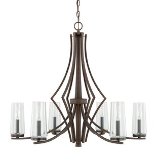 Mollie 6-Light Shaded Chandelier