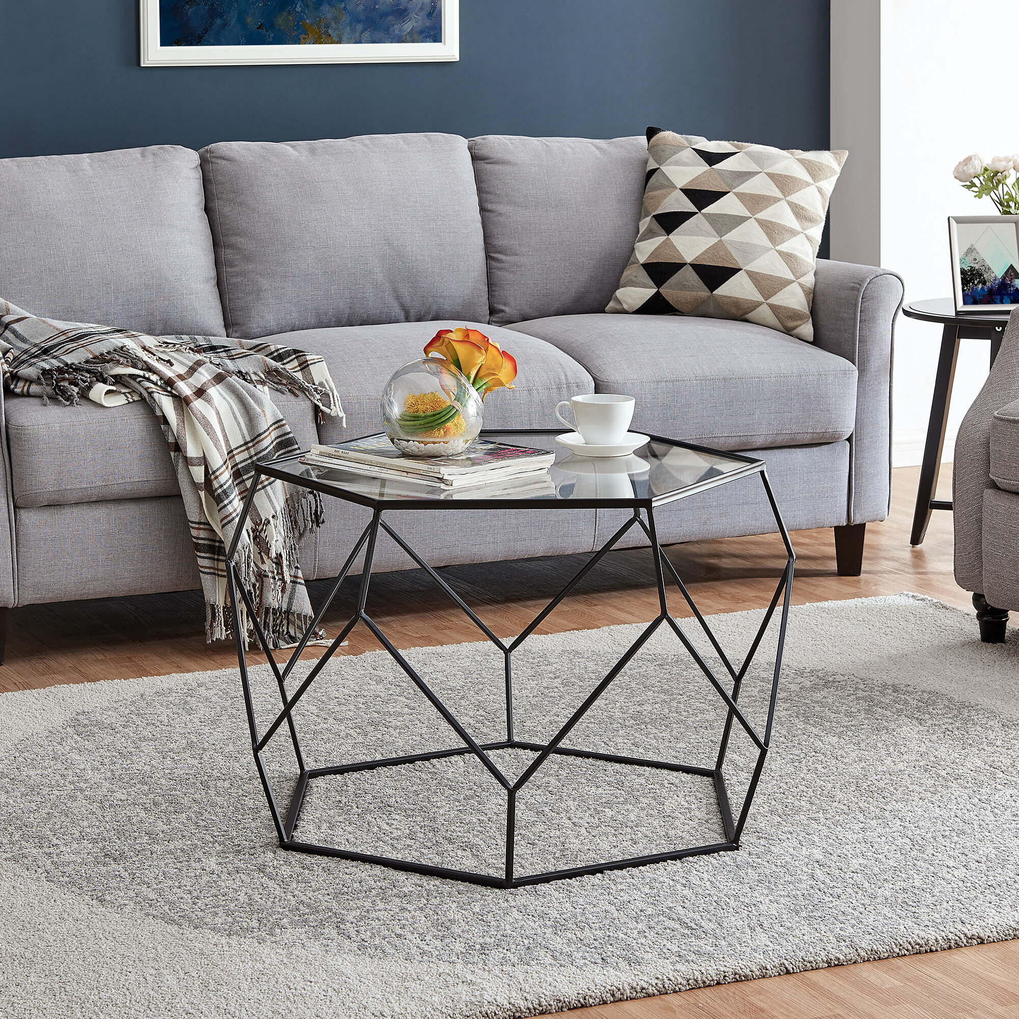Assembled Glass Coffee Tables You Ll Love In 2021 Wayfair