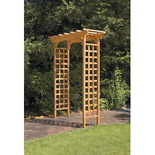 Greenstone Garden Structures Fairchild Garden Wood Arbor