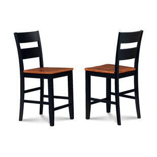 Bennet 24 Bar Stool (Set of 2) Alcott Hill