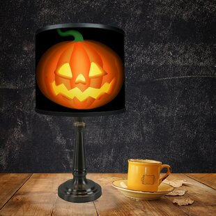 Bargain Halloween Jack-o-Lantern 20 Table Lamp By The Holiday Aisle