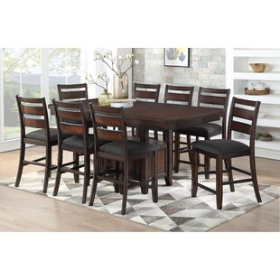 Campo 9 Piece Pub Table Set DarHome Co