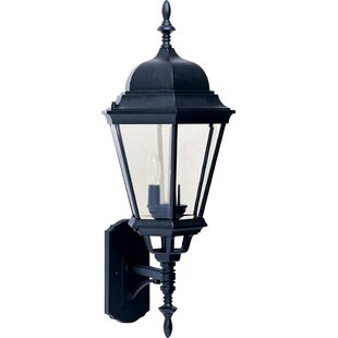 Buy luxury Listermann 3-Light Outdoor Sconce By Alcott Hill
