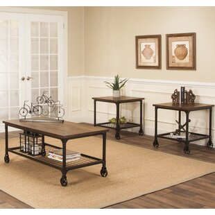 17 Stories C?dric 3 Piece Coffee Table Set