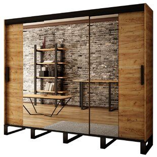 Malaki 3 Door Sliding Wardrobe By Union Rustic