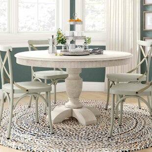 August Grove Coursey Round Dining Table