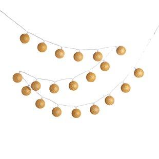 Montgomery 20-Light LED String Paper Lantern By The Seasonal Aisle