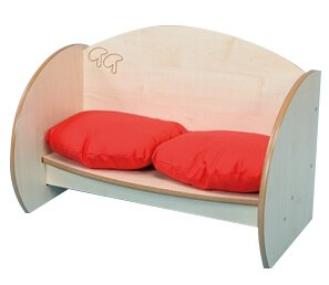 Mini Bench with Cushions by Twoey Toys