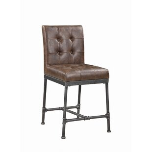 Alyssa 24.25 Bar Stool (Set of 2) 17 Stories